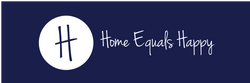 Home Equals Happy Logo