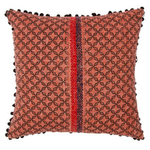 Load image into Gallery viewer, Khadi Cushion Cover - Terracotta