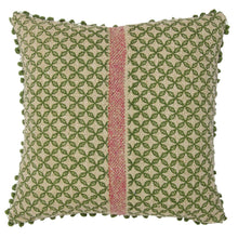 Load image into Gallery viewer, Khadi Cushion Cover - Olive