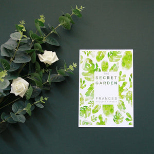 """The Secret Garden"" Book Cover Print"