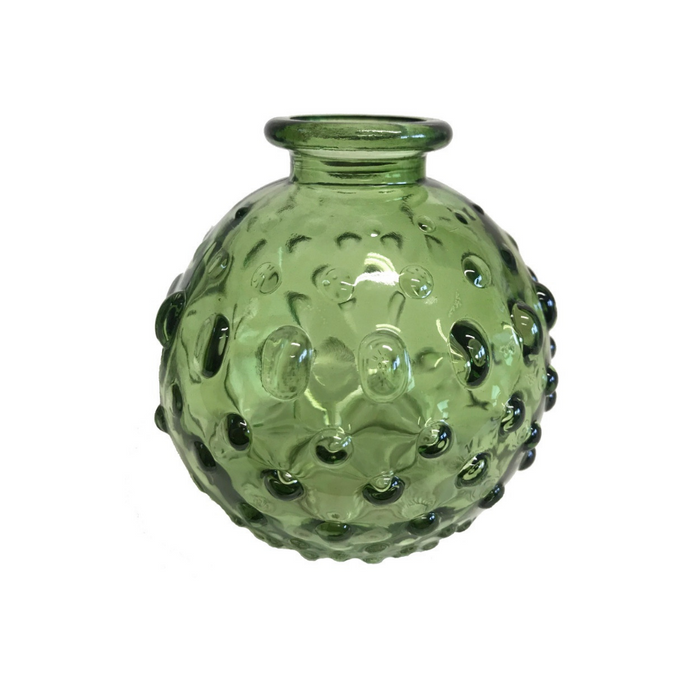 Dimple Glass Bottle