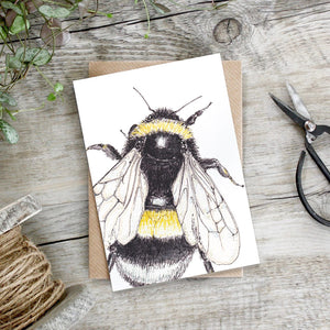 Note Card - Bumblebee