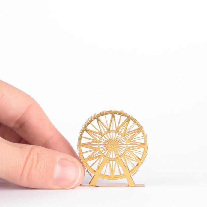 Mini Brass Model - Ferris Wheel