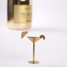 Load image into Gallery viewer, Mini Brass Model - Cocktail