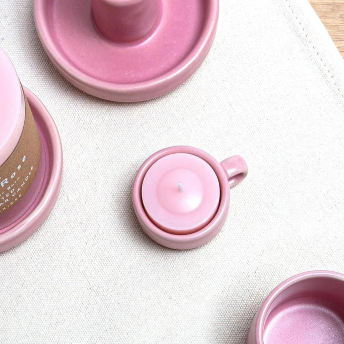 Tealight Holder - Blush Pink