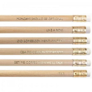Werkin' It Pencil Set