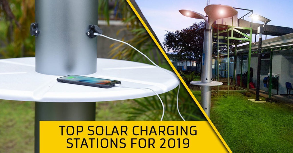 Top Solar Charging Stations for 2019