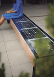 SB1040 SOLAR CHARGING AND CONNECTIVITY STATION BENCH | SELS - Smart Era Lighting Systems | Solar Powered USB Charging Station