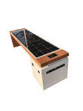SB1040 SOLAR CHARGING AND CONNECTIVITY STATION BENCH - Smart CHARGING STATIONS | SELS - Smart Era Lighting Systems | Solar Panel Charging Station