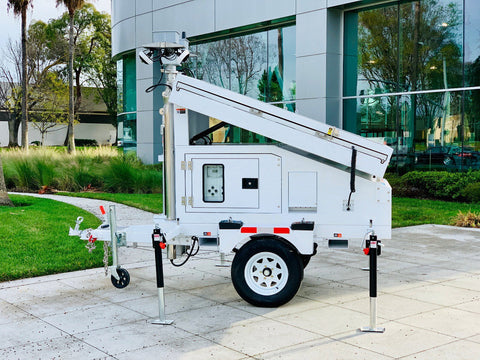 Smart Solar Mobile Power Unit - Smart STANDALONE SOLAR POWER STATION | SELS - Smart Era Lighting Systems | Commercial Grade Solar Power Solutions