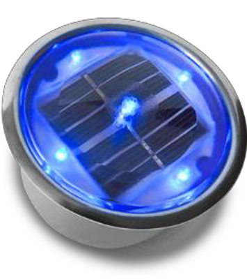 "LSP4 - 4"" Lighted Solar Puck - Smart SOLAR PUCKS 
