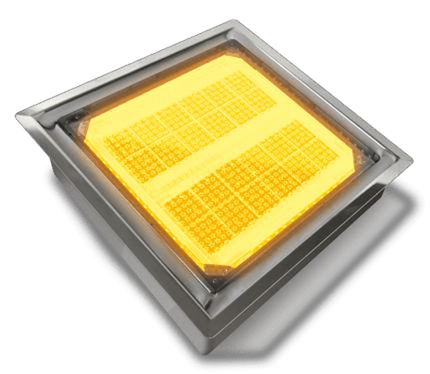 "LSP 88 - 8x8"" Lighted Solar Paver - Smart SOLAR PAVERS 
