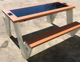 ST1010 SOLAR CHARGING AND CONNECTIVITY PICNIC TABLE