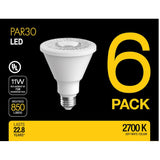 PAR30 LED Bulbs | 11W (6 Pack) - SELS - Smart Era Lighting Systems