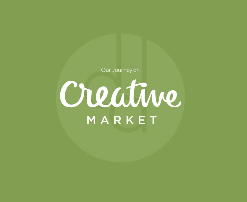 Starting a journey on Creative Market