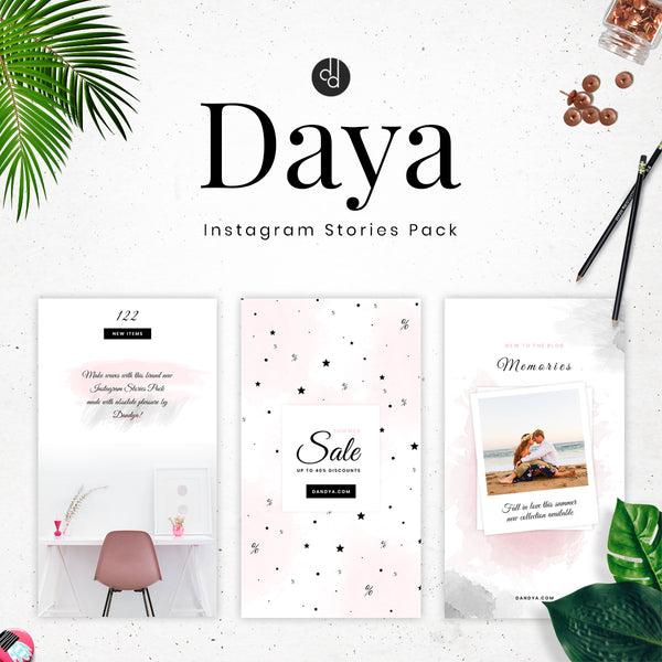 Daya Collection - Instagram Stories Pack