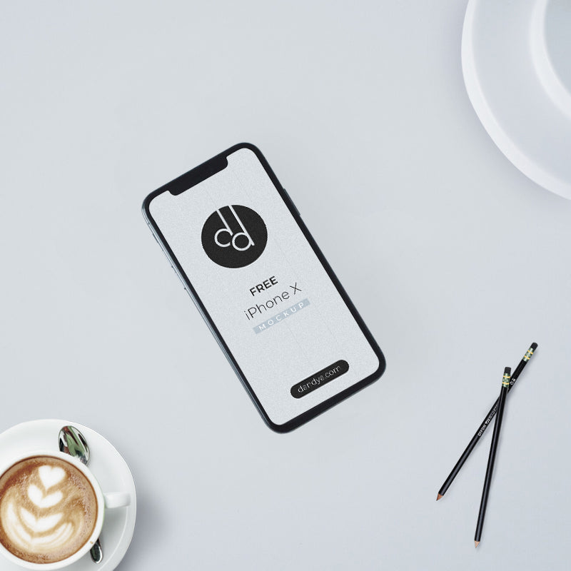 [UPDATED] iPhone X Free Mockup PSD