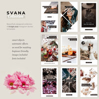 Svana Instagram Stories Templates