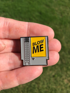 Nintendo Blow Me Cartridge