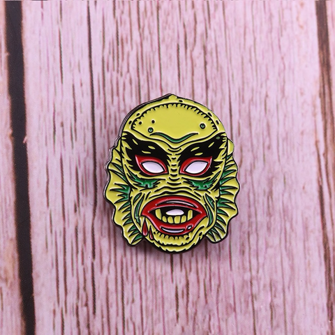 Image of Creature from the Black Lagoon (CFTBL) Pinball Enamel Pin
