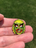 Creature from the Black Lagoon (CFTBL) Pinball Enamel Pin