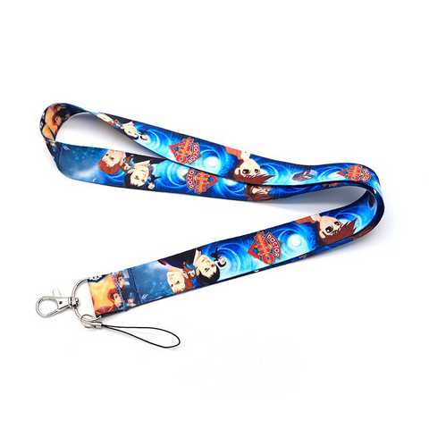 Doctor Who Lanyard Cartoon Style
