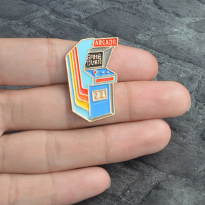 Game Over Arcade Enamel Pin
