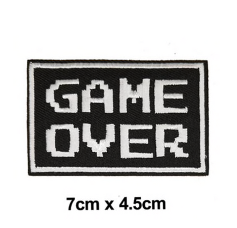 Game Over Patch (Small)