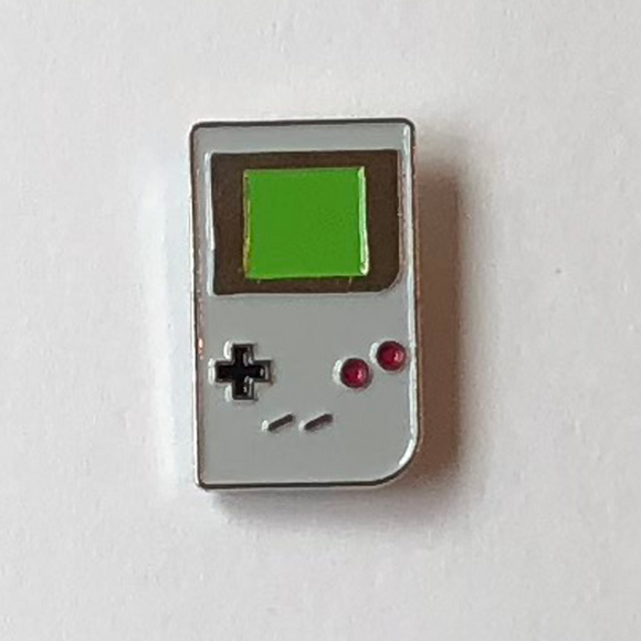 Game Boy Enamel Pin