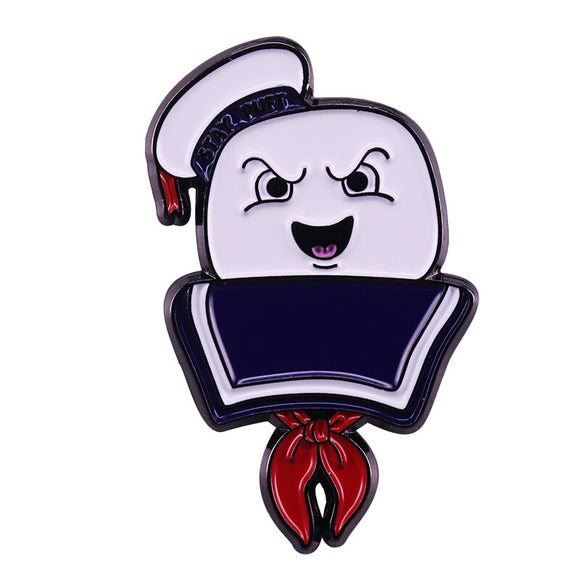 Stay Puft Marshmallow Man (Ghostbusters) Enamel Pin