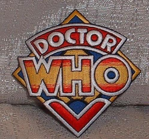 Doctor Who Retro Logo Patch