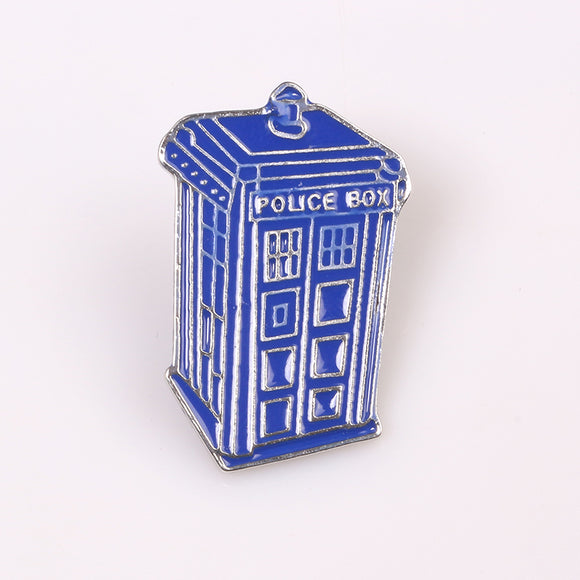 Doctor Who Tardis Enamel Pin