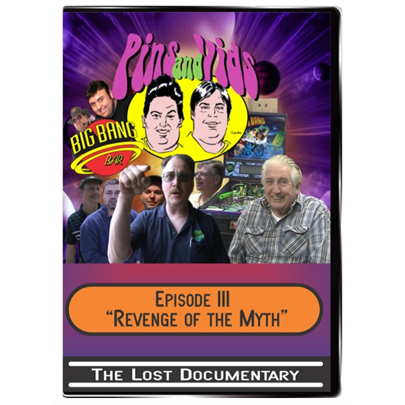 Pins and Vids 3 – Revenge of the Myth (DVD)