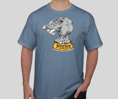 Image of Pinbo Shirt (Stone Blue)