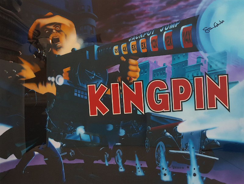 Kingpin Signed Limited Edition Translite