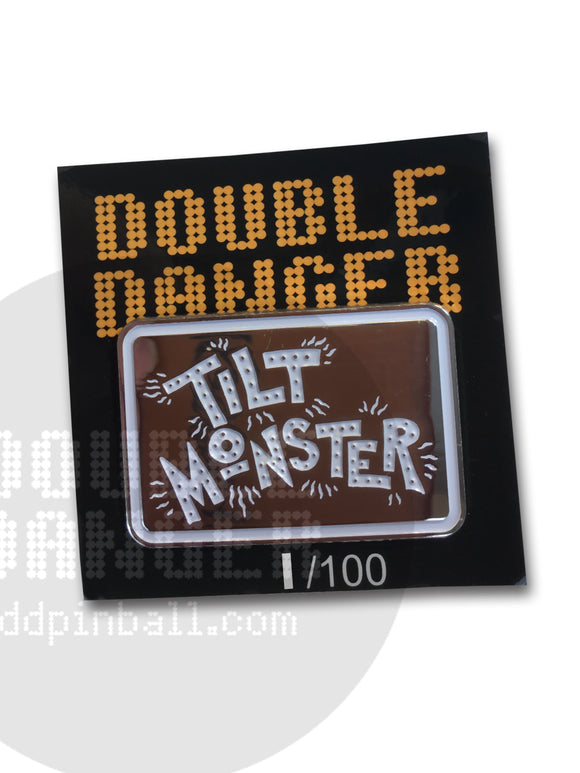Tim Lee Tilt Monster Enamel Pin