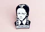 The Addams Family Wednesday Enamel Pin