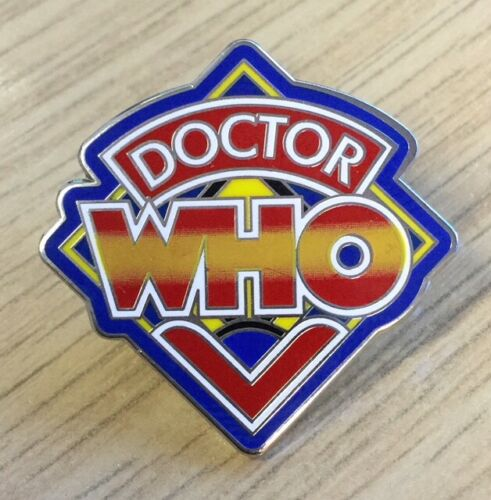 Doctor Who Pinball Logo Enamel Pin