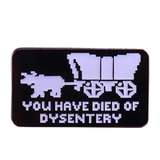 Oregon Trail Enamel Pin