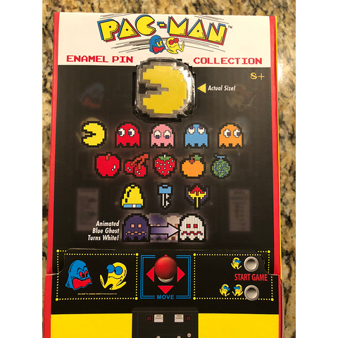 Pac-man Collectible Enamel Pin Series (Blind Bag) - 1 Pack