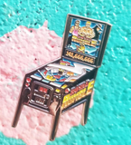 Royal Rumble Pinball Machine Enamel Pin