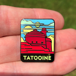 Tatooine Tourist Enamel Pin - Star Wars