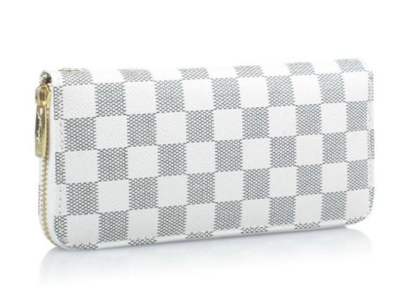 NEW FASHION WOMEN PURES WALLET WHITE