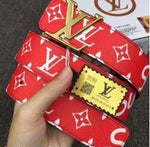 LV-SUP BELT RED