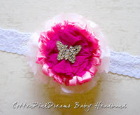 CottonPinkDreams Baby Headband