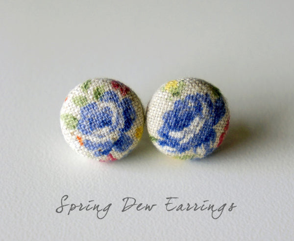 Spring Dew Handmade Earrings by Paperdaise