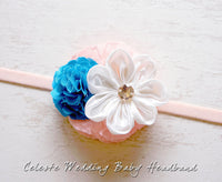 Celeste Wedding Baby Headband