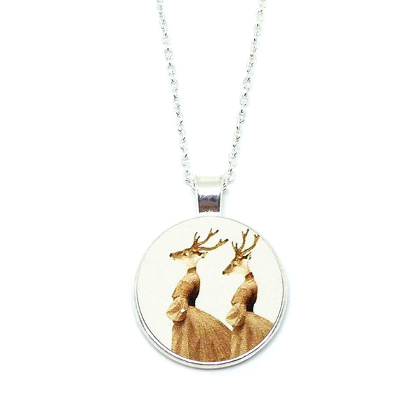 Mythical Deerladies Necklace