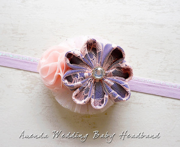 Amenda Wedding Baby Headband