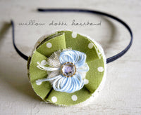Willow Dotti Handmade Hairband